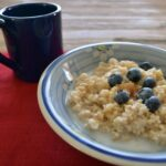 Blueberry Pancake Oatmeal Recipe