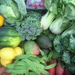 Find out what's in the CSA produce box