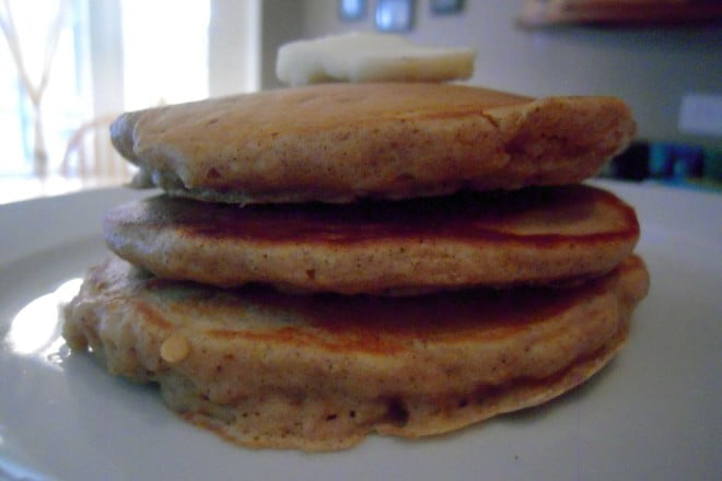Sweet Potato Flapjacks