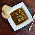 Dark Chicken Noodle Soup Recipe