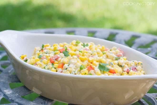 Creamy Corn Salad Recipe