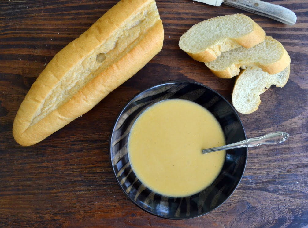 Butternut Squash Soup - Get the recipe for this silky smooth, delicious soup from COOKtheSTORY.com