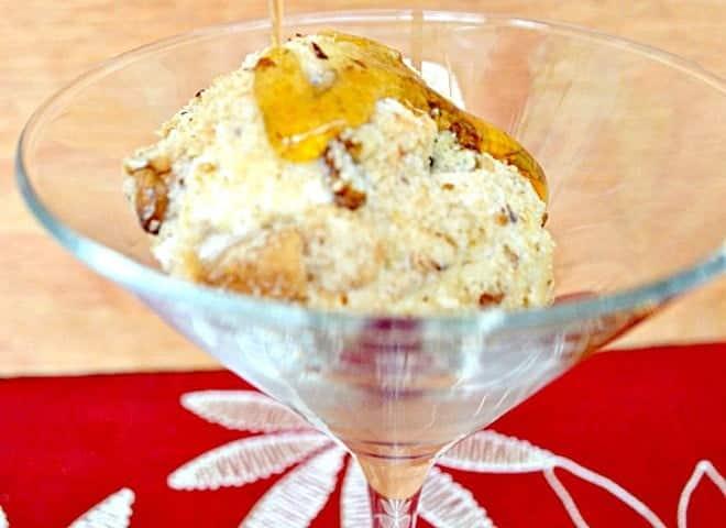 Pecan Shortbread Crusted Ice Cream Balls
