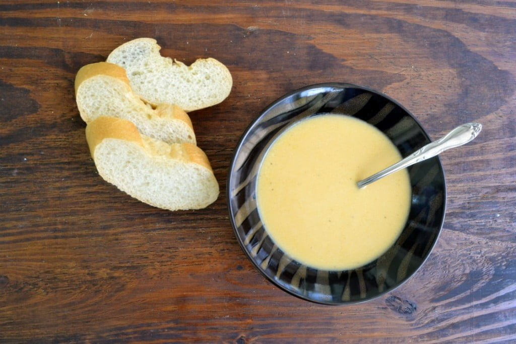 Butternut Squash Soup Recipe, from COOKtheSTORY.com