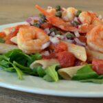 Italian-Style Shrimp Penne Pasta Dinner