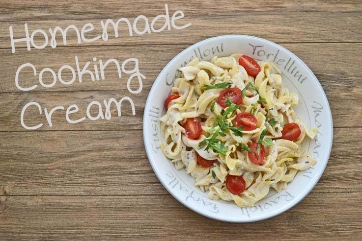 Homemade Cooking Cream