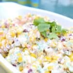 Spicy Corn Salad - One of six flavorful and easy summer side dishes
