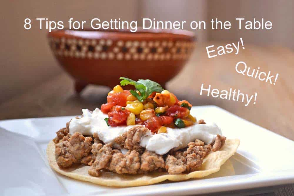 8 Tips for Getting Dinner on the Table, Simple Recipes for Back to School from Cook the Story