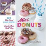 "Mini Donuts: 100 Bite-Sized Donut Recipes to Sweeten Your ""Hole"" Day by Jessica Segarra of The Novice Chef Blog - great gift ideas for food lovers"