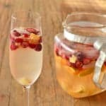 Six Easy Champagne Cocktails, Nine Simple Ingredients. Today's cocktails is the Sparkling Sangria by @cookthestory
