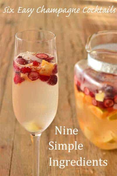 Easy Champagne Cocktails from 9 Simple Ingredients: Sparkling Sangria