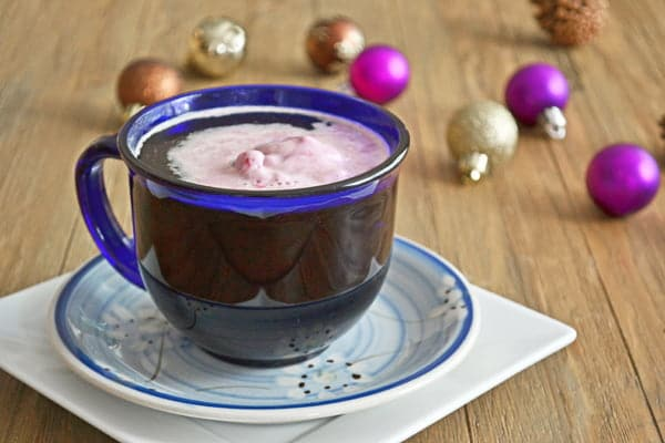 A Hot Holiday Drink: The Coffee Float: Coffee, sugar and ice cream (a dribble of boozey goodness is optional)