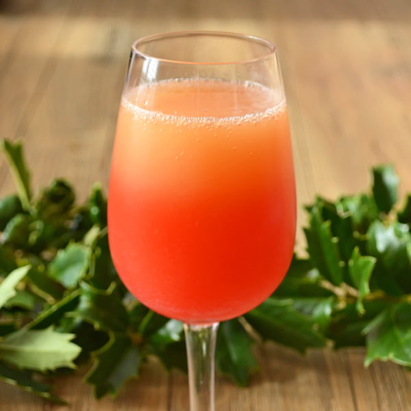 Paint Your Mimosa Red [6 Champagne Cocktails, 9 Simple Ingredients]