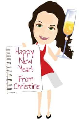 Happy New Year from Christine