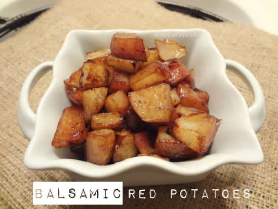 Balsamic Potatoes by Made In a Day