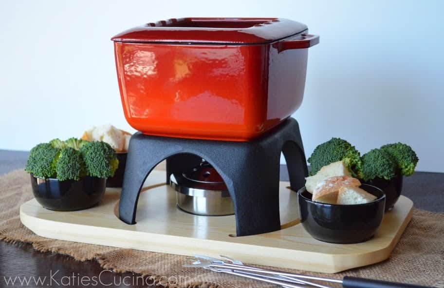 This Swissmar Mont Blanc Fondue Pot is one of the prizes in our #FondueWeek Giveaways from @cookthestory and @katiescucina
