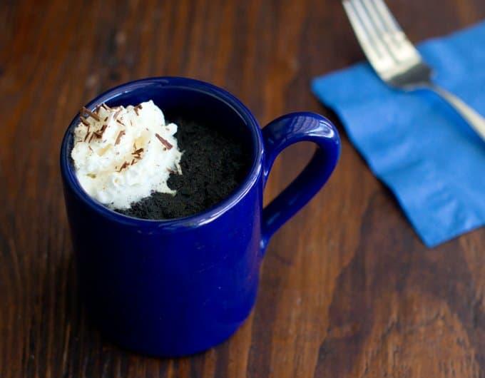 Mexican Hot Chocolate Mug Cake