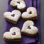 Linzer Heart Cookies from Tate's Bake Shop Baking with Friends Cookbook