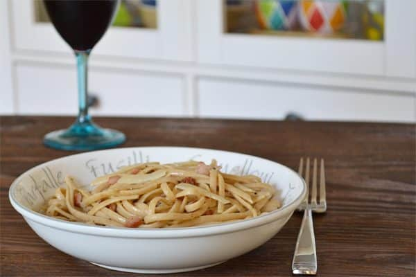 Pasta Carbonara with Greek Yogurt: A Delicious, Healthy and Quick Pasta Recipe by cookthestory