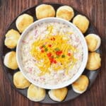 Easy Dip Recipe - Pimento Cheese and Sausage Gravy