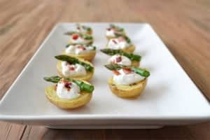 Baked Potato Bites: A healthy appetizer recipe and an easy appetizer recipe too!