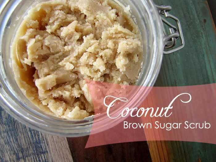 Recipes and Crafts for Spring: Coconut Brown Sugar Scrub from Imprintalish