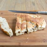 Bangers and Mash Bread: Mashed Potato Bread loaded with crumbled sausage and red onion by @cookthestory for #MakeItMine