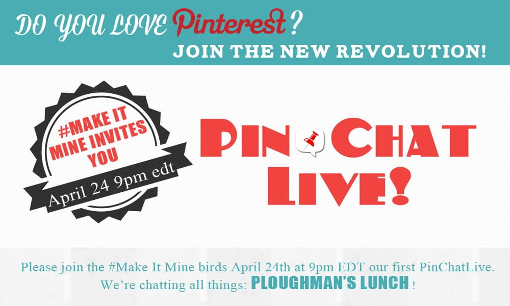 Come chat on Pinterest with us about Ploughman's Lunch!