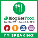 I'm Speaking at BlogHer Food '12!