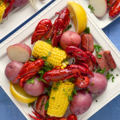 easy crawfish boil recipe