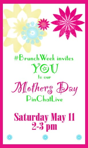 Join our PinChatLive by clicking here on Saturday May 11th from 2-3pm Eastern.