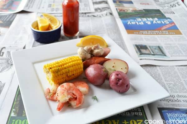 Shrimp Boil 1 blog water
