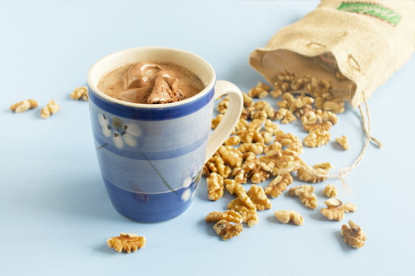 One of my all-time favorite hot drink recipes: The Hot Maple Walnut Coffee Float by @cookthestory