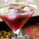 A Cherry-Lime Margarita Recipe by www.cookthestory.com for #FlavorsOfSummer