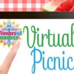 The Flavors of Summer Virtual Picnic has begun! Click here to join us for summery recipes, fun and giveaways.