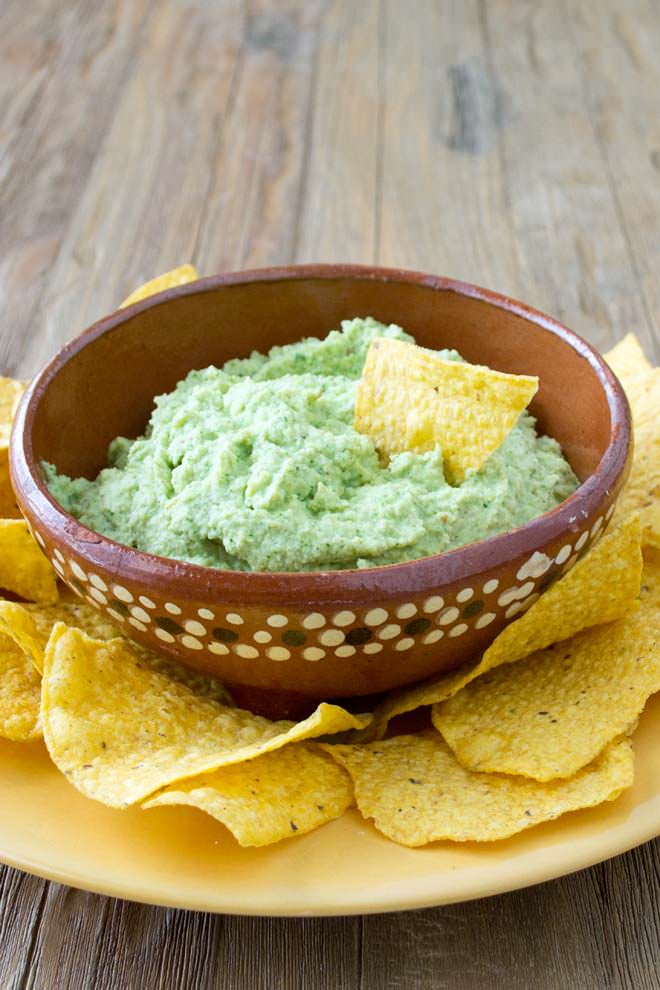 Guacamole Without Avocadoes