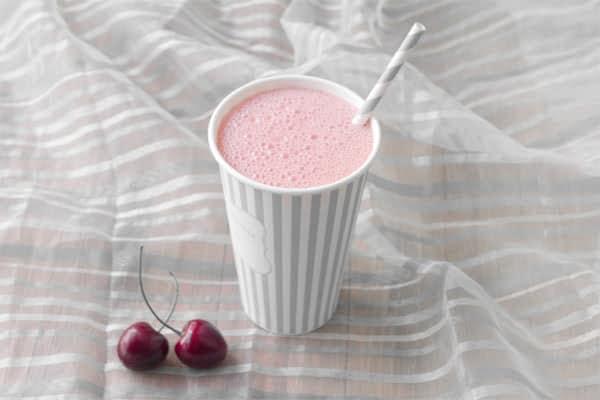 Coffee Smoothie with Fresh Cherries and Blendtec, KitchenAid, Zoku, Big Kithcen, King Arthur Flour and OXO #giveaway
