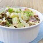 Potato Salad Recipe with Italian Sausage and Fennel