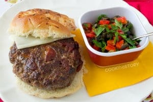 The Flamenco Burger: This burger recipe is special! There's chorizo sausage right in the patty for flavor and extreme juiciness by www.cookthestory.com.