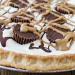Quick and Easy Peanut Butter Cup Ice Cream Pie Recipe from www.cookthestory.com