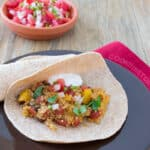 Vegetarian Quinoa Fajitas for #BackToSchoolWeek from www.cookthestory.com