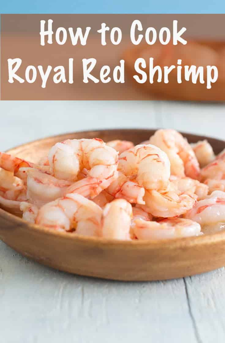 Learn about Royal Red Shrimp, deep-ocean darlings that are red when raw. They\'ll remind you of eating lobster. #shrimp #dinner #protein #keto