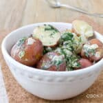 I first tasted and fell in love with this potato recipe before I was even born. New potatoes with cream and lots of dill by @cookthestory