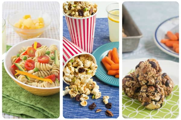 Easy and Healthy Kids Lunch Ideas and Snacks from @produceforkids and @cookthestory @Produceforkids