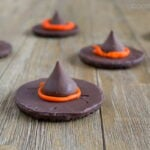 Two-Ingredient Chocolate Witches' Hats: An easy Hallloween recipe