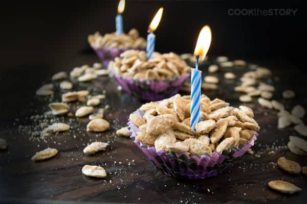 Birthday Cake Flavored Roasted Pumpkin Seeds Recipe - The most addictive and adorable pumpkin seeds ever!
