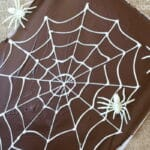 Spider Web Chocolate Bark: An Easy Halloween Recipe