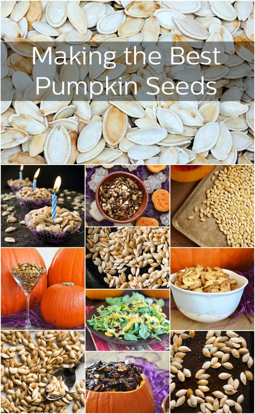 How to make the best pumpkin seeds with recipes, tips, how-to's and more at The Cookful.