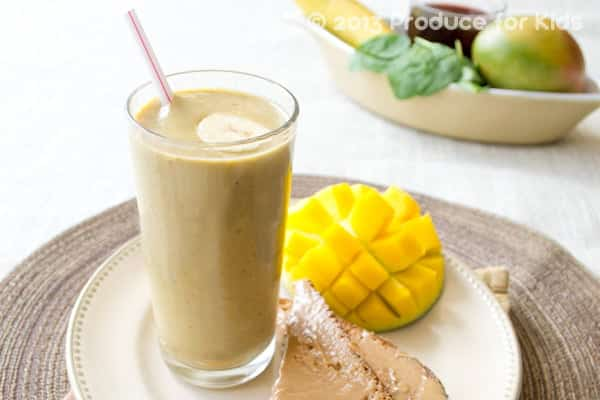 A pumpkin pie smoothie recipe that's as nutritious as it is healthy, and it's kid friendly, too!