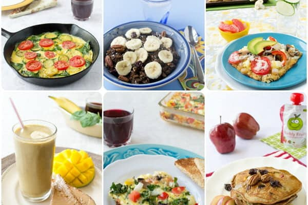 Healthy Kid-Friendly Breakfast Recipes developed with @ProduceForKids
